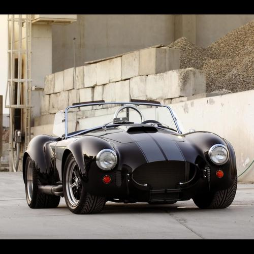 Черно Cobra Superformance Mkiii 2009 тапети
