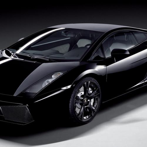 Black Lamborghini Galardo wallpaper