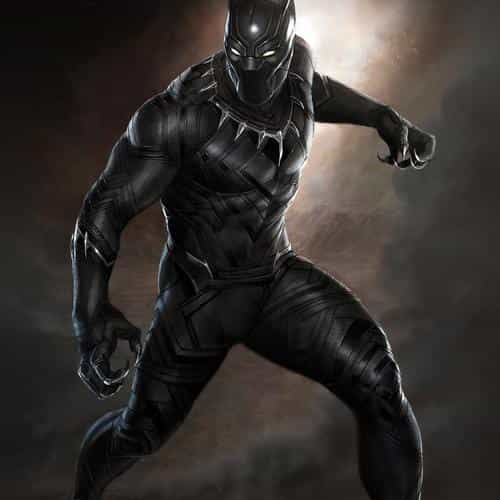 black panther art hero captain america