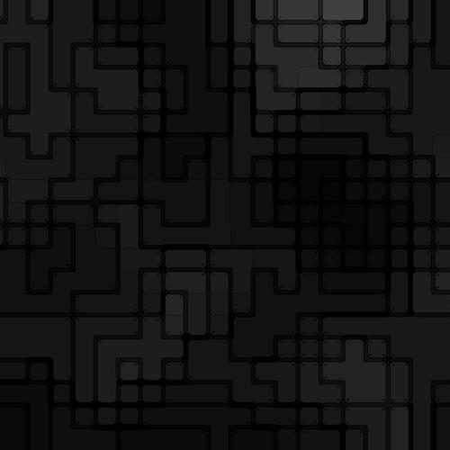 Black pattern squares wallpaper