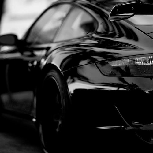 Black Porsche wallpaper