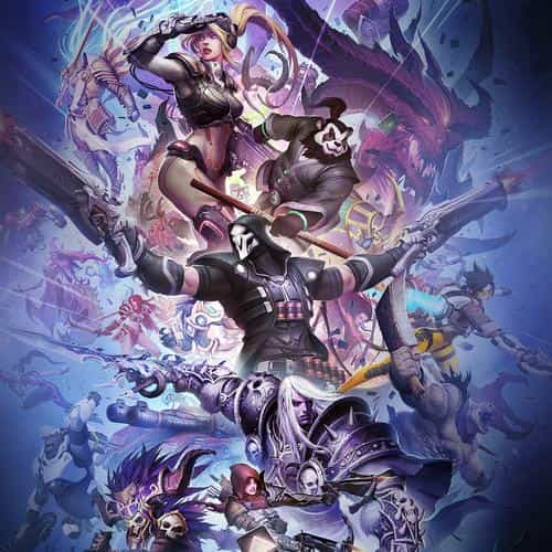blizzcon art splash game illustration art