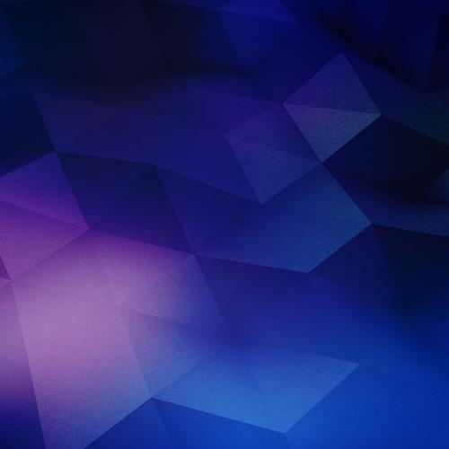 Blue and purple geometry