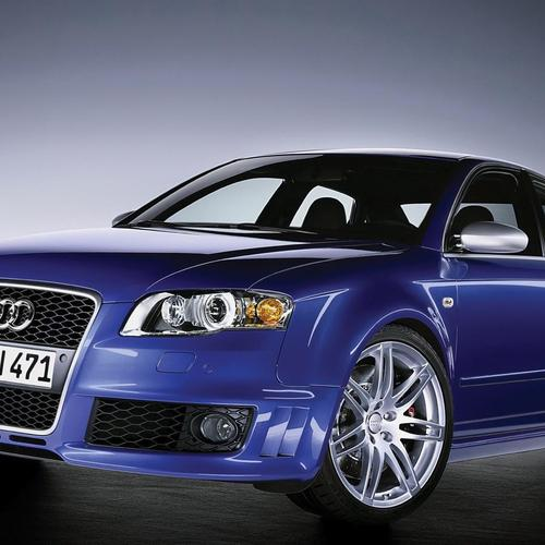Blue Audi Rs4 wallpaper