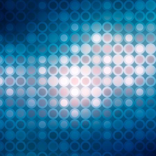 Blue circles texture wallpaper