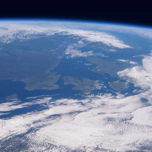 blue planet earth from space nature