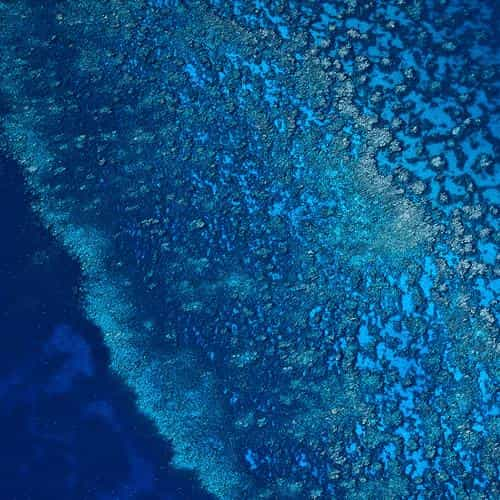 blue sea ocean from sky