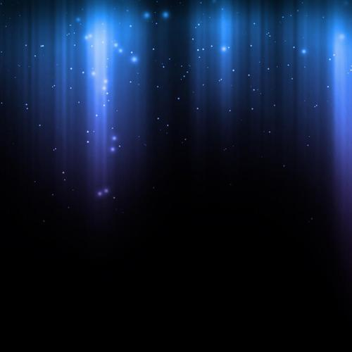Blue sparkle rain wallpaper