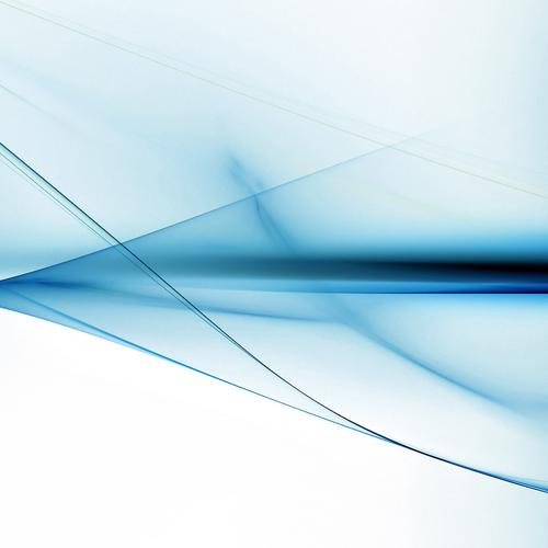 Blue waves abstract wallpaper