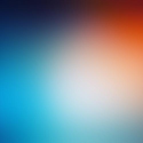 Blurred red and blue wallpaper