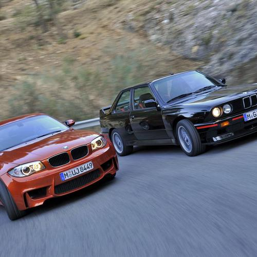 BMW 1-Series M Coupe шпалери
