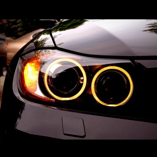 BMW headlight wallpaper