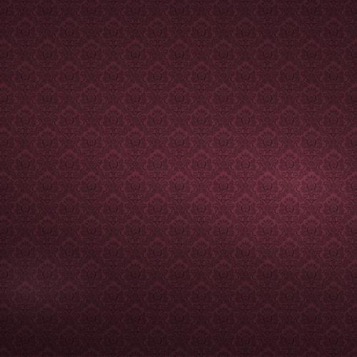 Bordeaux floral texture wallpaper