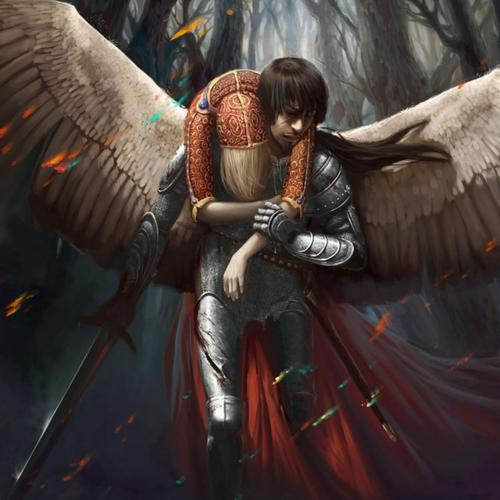 Brave warrior rescue angel wallpaper