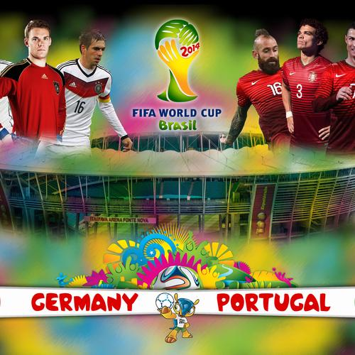 Brazil World cup 2014 Germany vs Portugal