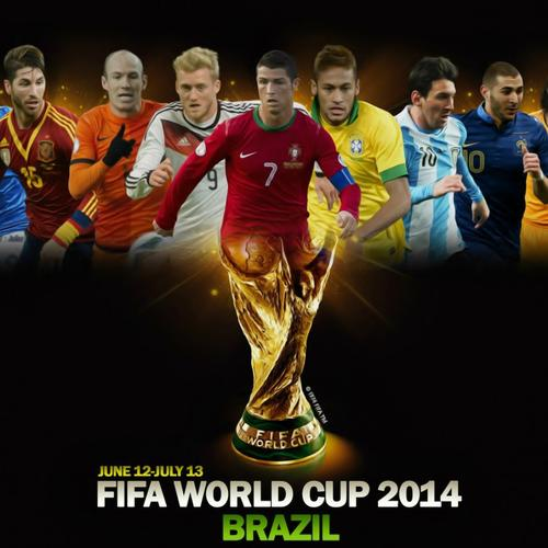 Brazil World Cup 2014 superstars wallpaper