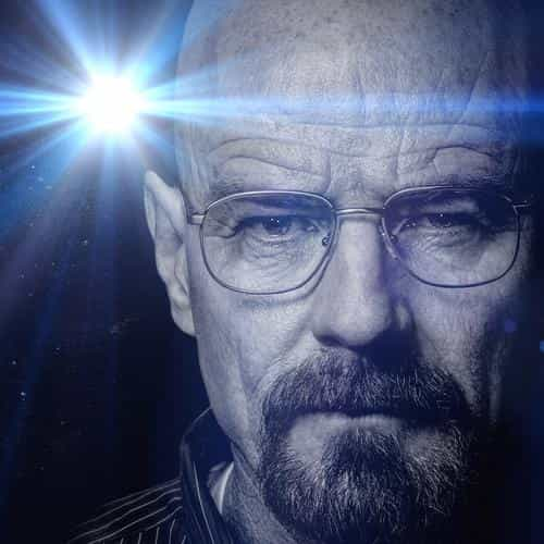 breaking bad face flare film art dark