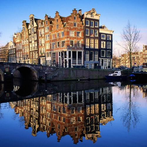 Bridge in Amsterdam Netherlands