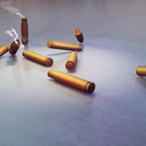 Bullet shells 7.62 wallpaper