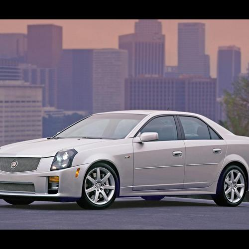 Download Cadillac CTS 2008 Hoge kwaliteit behang