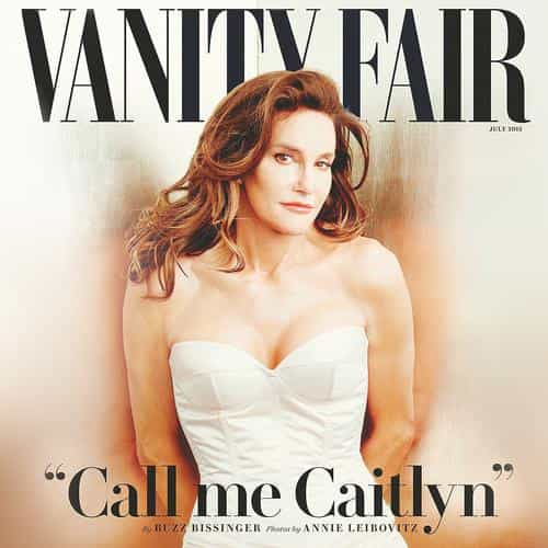 caitlyn jenner vanity fair model
