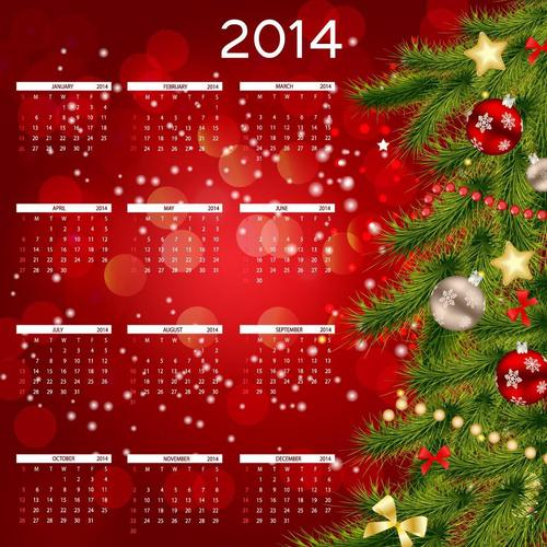 Calendar Happy New Year 2014 wallpaper