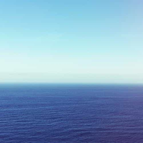calm sea blue ocean water summer day nature