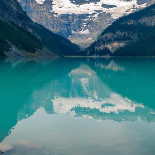 canada lake louise green water nature