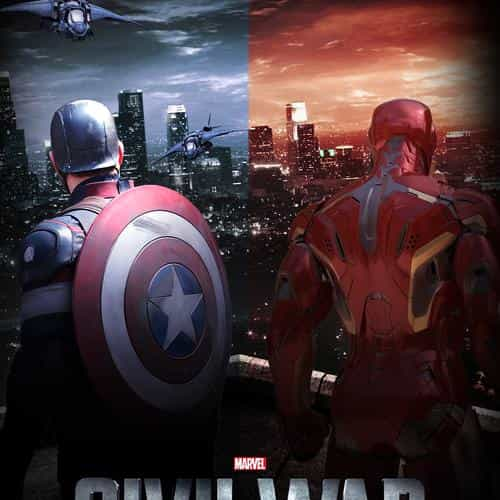 captain america civilwar art poster hero