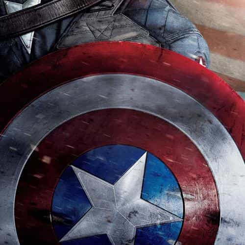 captain america poster film hero art