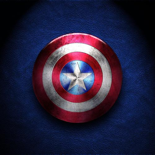 Captain America's shield wallpaper