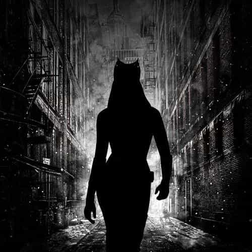 catwoman walking dark