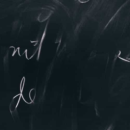 chalkboard green handwritten pattern background