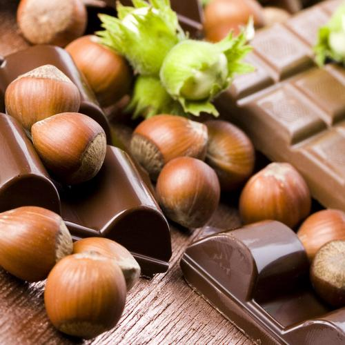 Chocolate Hazelnuts wallpaper