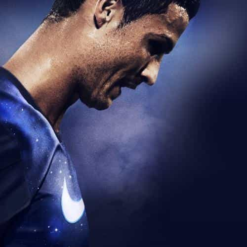 christiano ronaldo soccer sports blue