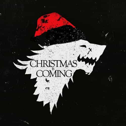christmas is coming dark game of thrones art