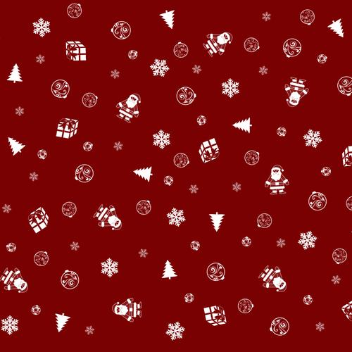Christmas items texture wallpaper