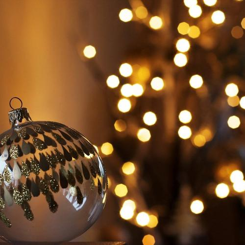 Hent Jul Nytår 2016 Ball Lights Høj kvalitet tapet