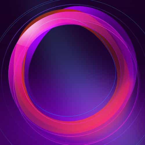 circle abstract purple pattern background