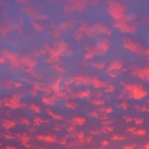 cloud sky sunset pattern red