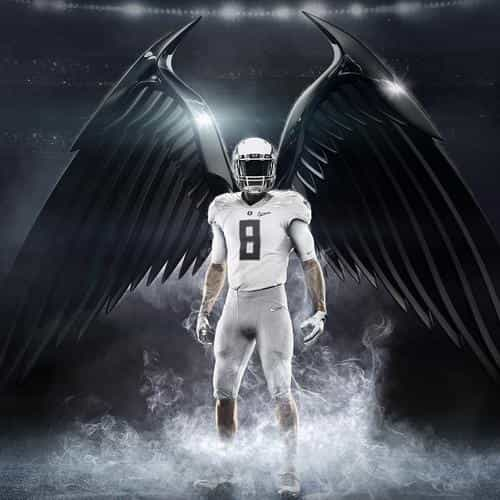 college nfl uniform nike football art