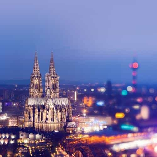 cologne cathedral hohenzollern bridge sky spain city