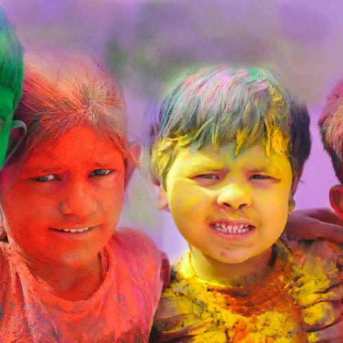 Colorful kids wallpaper