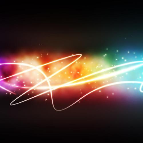 Colorful light wallpaper