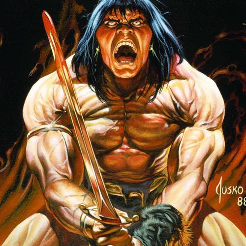 Conan Barbarian behang