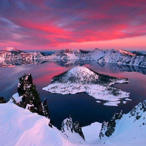 Crater Lake National Park tapeta