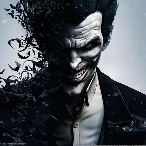 Crazy joker wallpaper