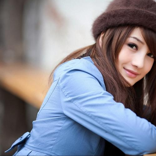 Cute asian girl wallpaper