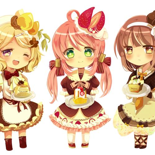 Cute Chibi wallpaper