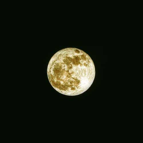 damian moon yellow dark nature space sky